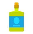 absinthe icon cartoon style vector image vector image