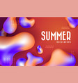 abstract liquid banner background vector image