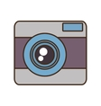 cartoon photo camera picture vacation travel vector image