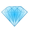 isolated brilliant icon jewel element can be vector image