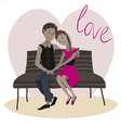 love story one vector image