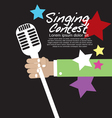 Singing Contest vector image
