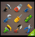 tools icon set-1 vector image