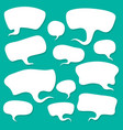 cloud talk vector image vector image