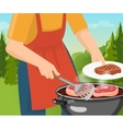 Cooking Barbecue Concept vector image