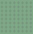 geometric laurel green and grey vector image vector image
