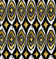 gold peacock retro tribal boho pattern background vector image vector image