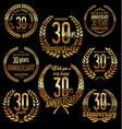 golden laurel wreath anniversary collection 30