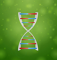 Medicine and DNA vector image