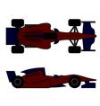 Racing car design vector image vector image