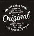 vintage typography for t-shirt print premium vector image vector image