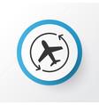 airplane direction icon symbol premium quality vector image
