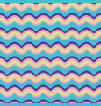 curved lines pattern seamless pattern wavy vector image