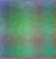 emerald crystaline polygonal background vector image