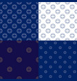 seamless marine pattern with lifebuoy vector image vector image