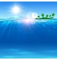 Summer paradise travel poster