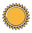 sun solar energy environmental renewable vector image vector image