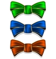 Collection bows vector image vector image