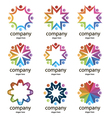 logos commonwealths vector image vector image