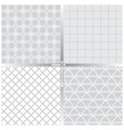 seamless pattern set ff vector image vector image