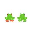 tree frog vector image vector image