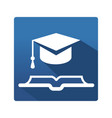 learning and education icon vector image