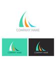 loop business company logo vector image vector image