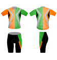 Low poly sports t shirt vector image vector image