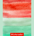 multicolor striped watercolor hand drawn vector image