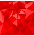 Red valentines heart on red wrapping background vector image vector image