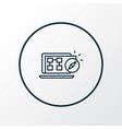 Sitemap navigation icon line symbol premium