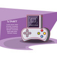 video game console icons vector image