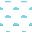 winter cloud pattern flat vector image vector image