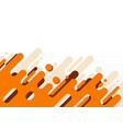 abstract modern orange rounded diagonal lines