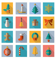 Christmas and Winter icons collection vector image vector image