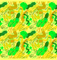 doodle sketchy abstract seamless pattern vector image vector image
