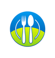 food restaurant icon logo vector image