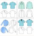 street fashion clothing 05 vector image vector image