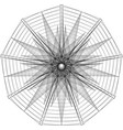 geometric pattern icon star astrology pentagram vector image