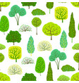 spring or summer seamless pattern with stylized vector image