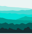 background with mountains vector image vector image