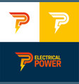 electrical power vector image vector image