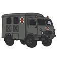 old military ambulance