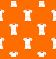 sport shirt and shorts pattern seamless vector image vector image