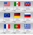 World flags vector image