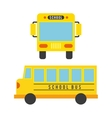 bus concept isolated design vector image vector image