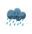 Cloud Pouring Rain vector image