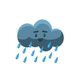 Cloud Pouring Rain vector image vector image