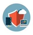 Data Protection Flat vector image