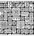 ethnic floral wall seamless pattern for your vector image